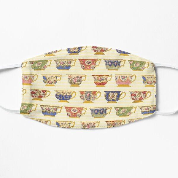 Vintage Porcelain/China Teacup Pattern  Flat Mask