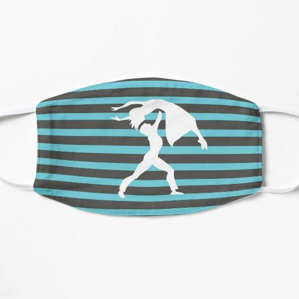 Stripped White Logo Char-Mar Dance Mask
