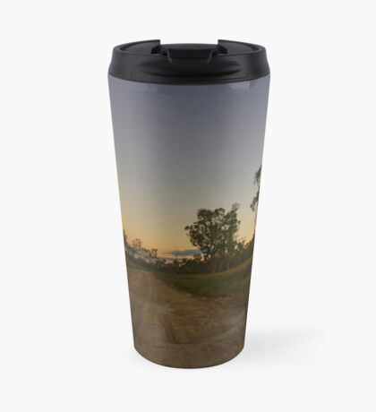 The track out the back Travel Mug