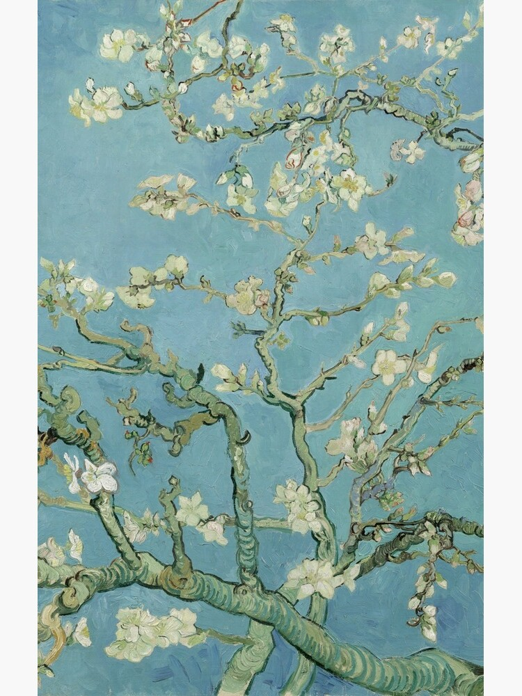 Almond Blossoms by Vincent van Gogh by robertpartridge