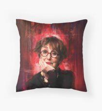 Mrs Hudson Throw Pillow