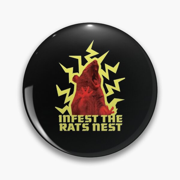 King Gizzard And The Lizard Wizard - Rats Pin