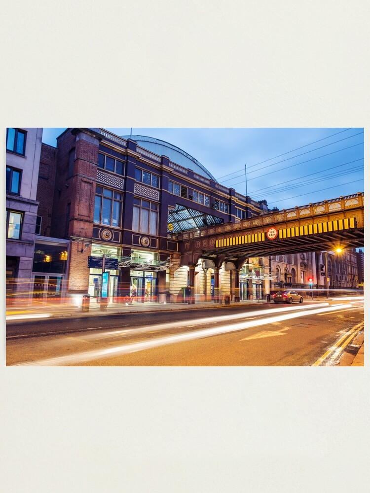 Alternate view of Pearse Train Station, Dublin Photographic Print