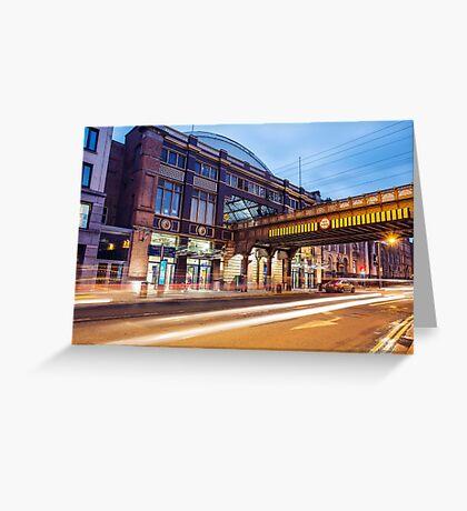 Pearse Train Station, Dublin Greeting Card