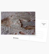 Roman Mosaic Layers Postcards