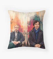Watson & Sherlock Throw Pillow