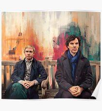 Watson & Sherlock Poster