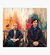 Watson & Sherlock Photographic Print