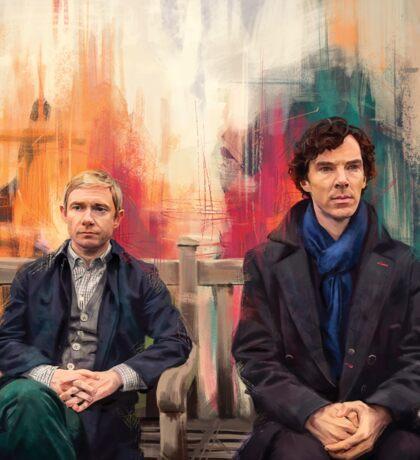 Watson & Sherlock Sticker