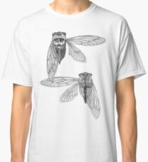 Cicada Study in Black and White Classic T-Shirt