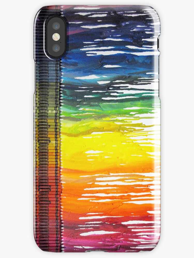 Lovely Dripping Crayons for your iPhone or iPod by Krystle