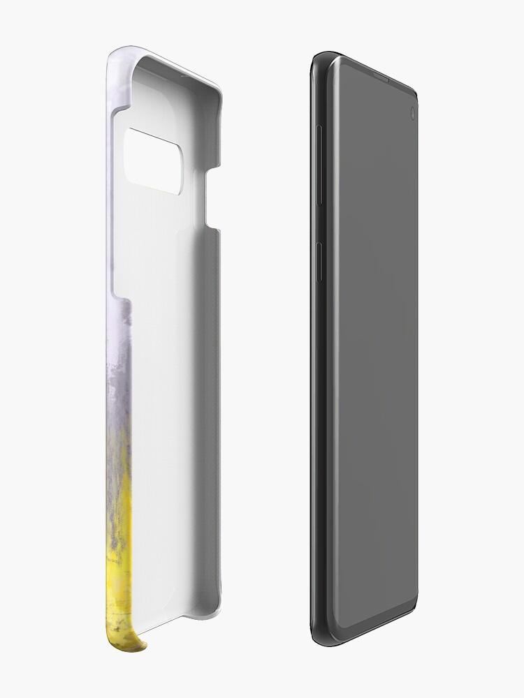 Alternative Ansicht von Gehender Sherlock Hülle & Klebefolie für Samsung Galaxy