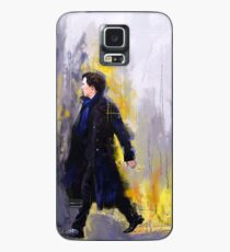 Walking Sherlock Case/Skin for Samsung Galaxy