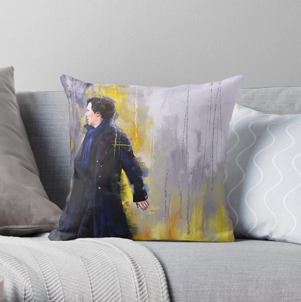 Gehender Sherlock Dekokissen