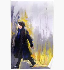 Walking Sherlock Poster