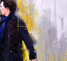 Walking Sherlock Sticker