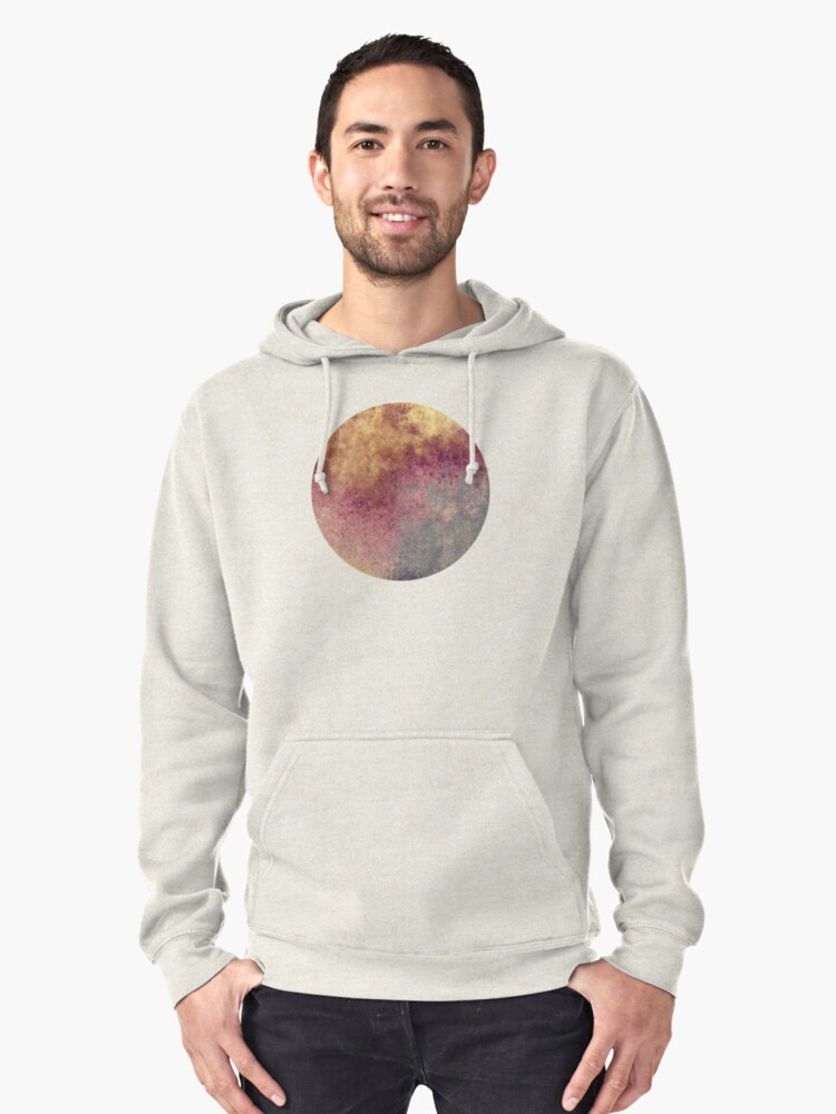 Abstract XVIII Pullover Hoodie Front