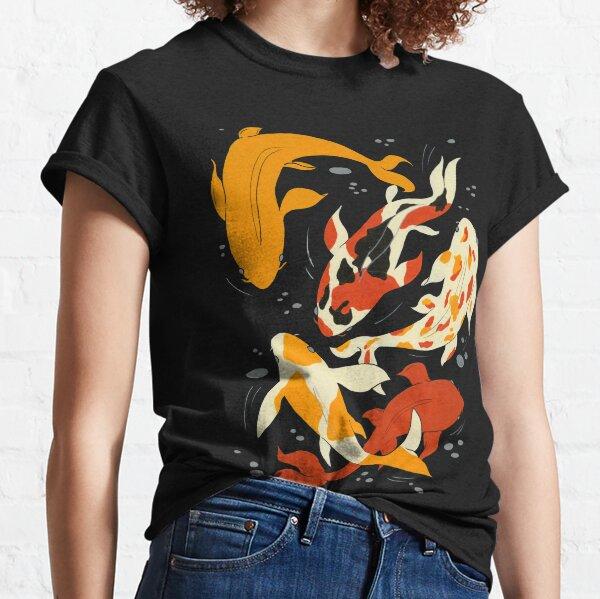 Koi in Black Water Classic T-Shirt