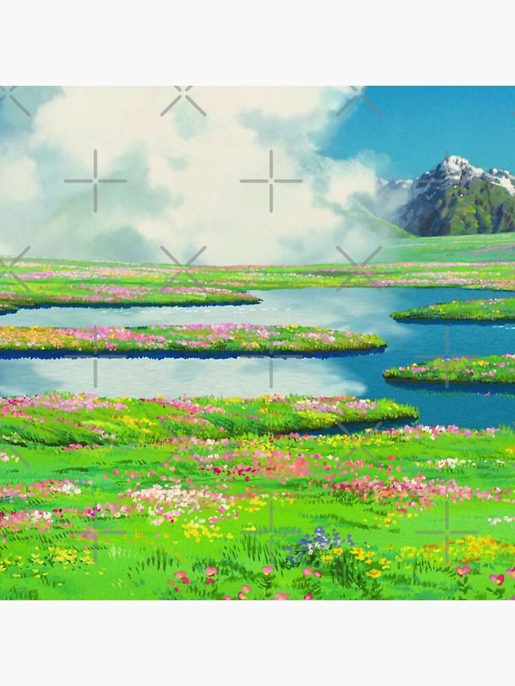 Anime landscape by layar5
