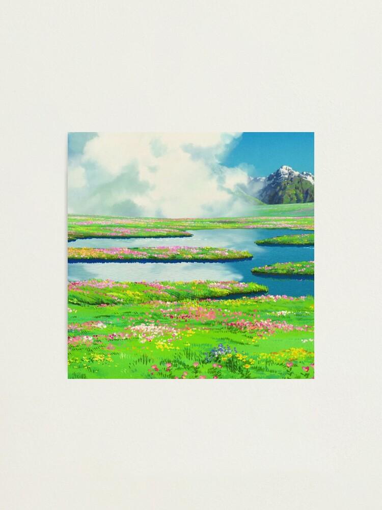 Alternate view of Anime landscape Photographic Print