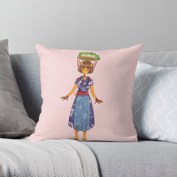 Daisy Mae ACNH! Throw Pillow
