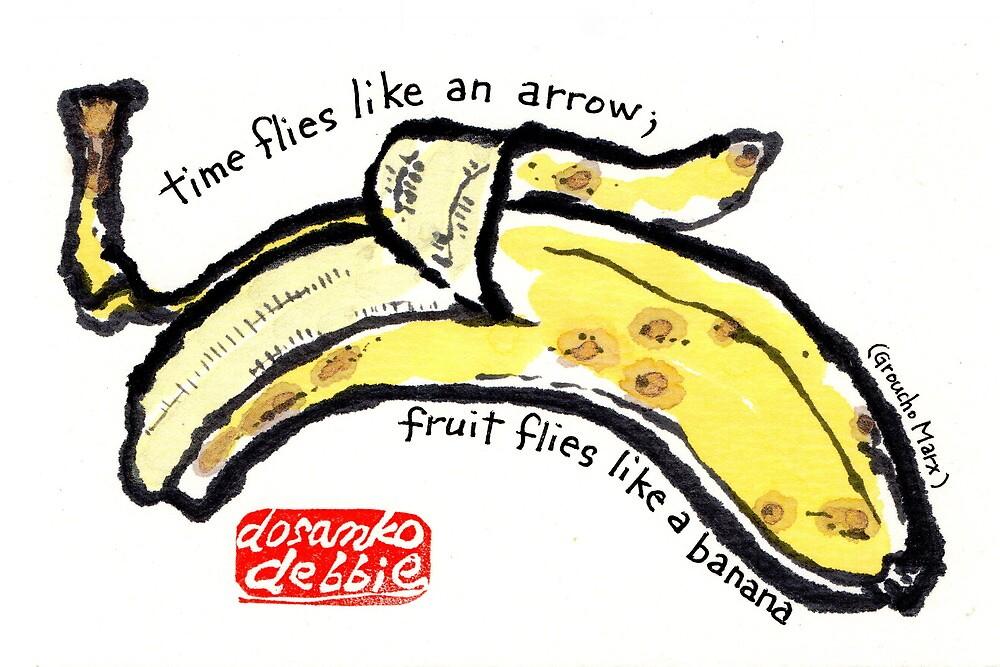 Like a Banana by dosankodebbie