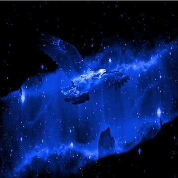 Space Eagle Spirit - blue by Nate4D7