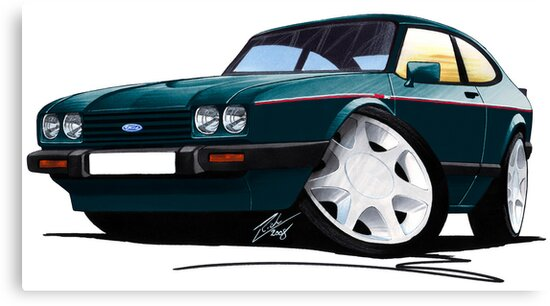 Ford Capri (Mk3) 280 Brooklands by yeomanscarart