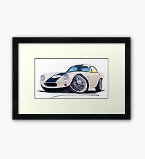 Lotus Elite Racer Framed Print