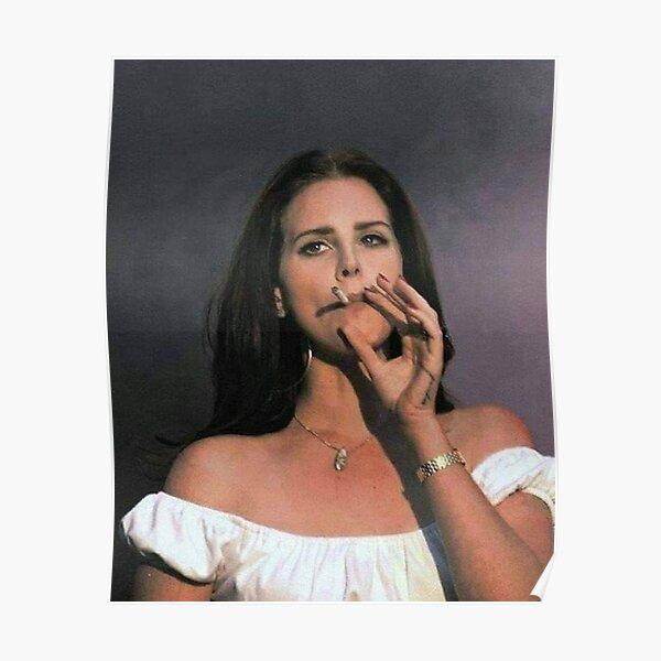 lana smoke Poster