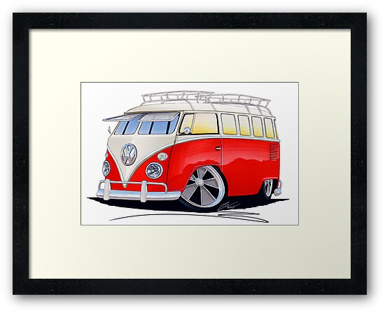 VW Splitty (15 Window) Camper (A) by yeomanscarart