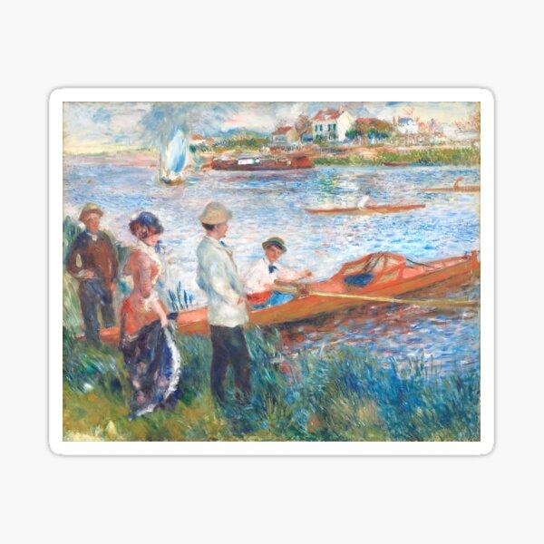 1841 - 1919). Oil on canvas (1879). Sticker