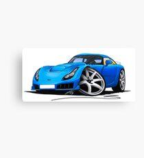 TVR Sagaris Blue Canvas Print
