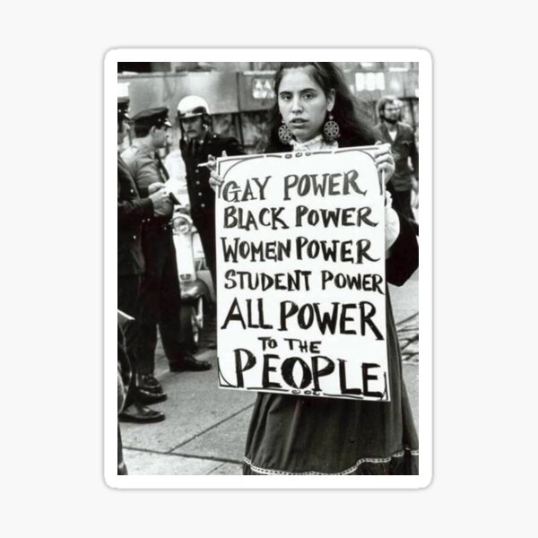 All Power To The People! Sticker