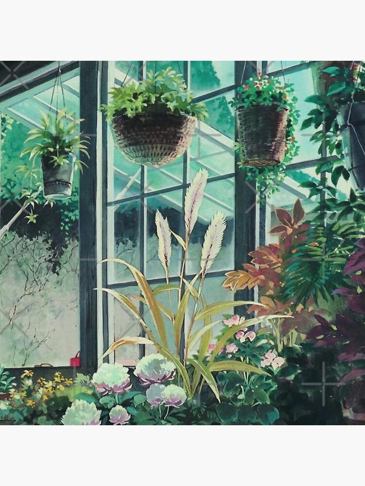 Anime Plants Scenery by layar5