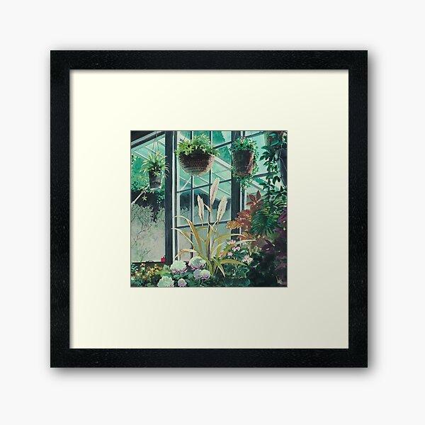 Anime Plants Scenery Framed Art Print