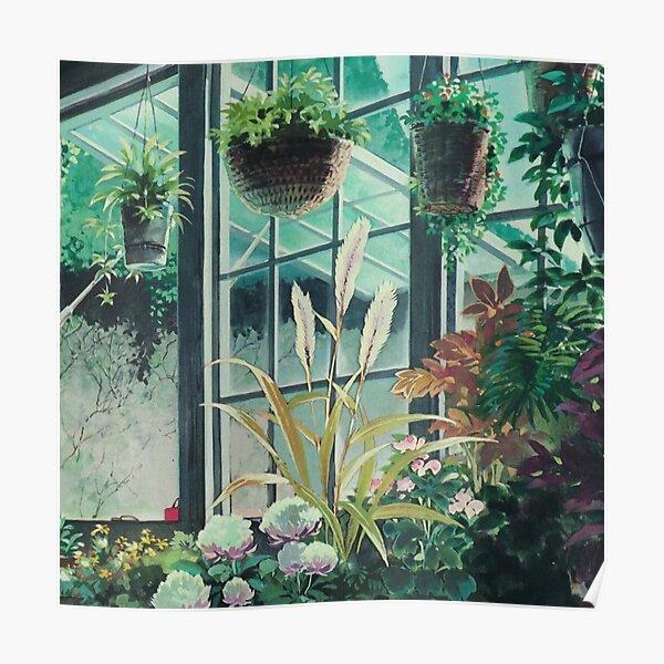 Anime Plants Scenery Poster