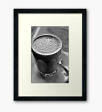 Latte Art Framed Print