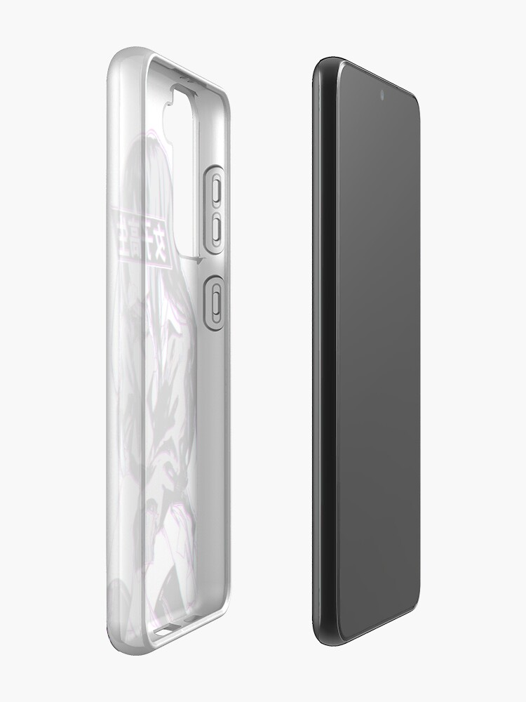 Alternate view of SCHOOLGIRL GLITCH - SAD JAPANESE ANIME AESTHETIC Case & Skin for Samsung Galaxy