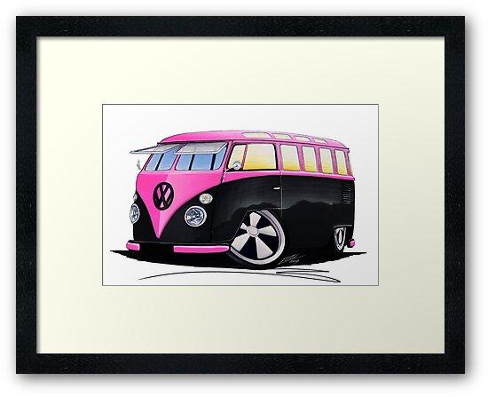 VW Splitty (23 Window) C by yeomanscarart