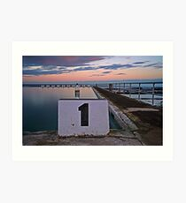 No. 1, Merewether Ocean Baths Art Print