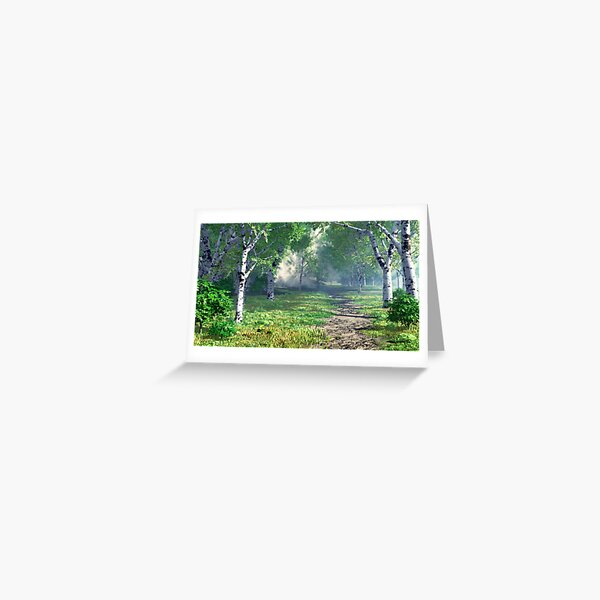 Forest Past Greeting Card
