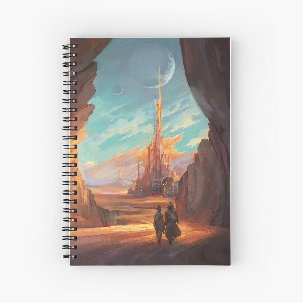 Child of Wrath Cover Spiral Notebook