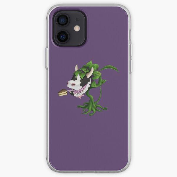 Planta de vaca Funda blanda para iPhone