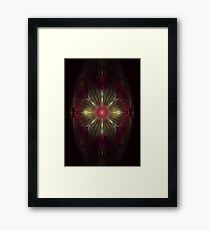 electric eye Framed Print