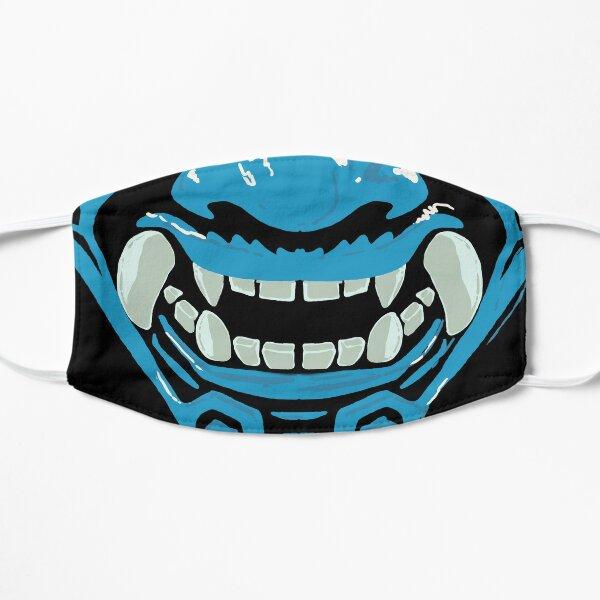 Blue Oni Hawaii Flat Mask