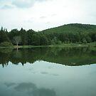 The serenity of the lake by Sebastian Ratti