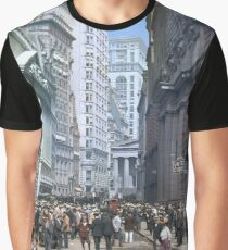 Curb Market in NYC, ca 1900 Graphic T-Shirt