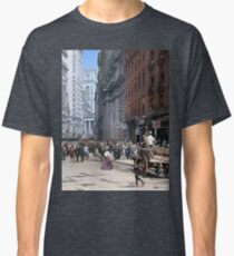 Curb Market in NYC, ca 1900 Classic T-Shirt