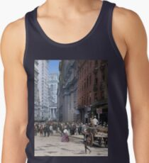 Curb Market in NYC, ca 1900 Tank Top